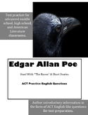 Edgar Allan Poe ACT English Practice Questions