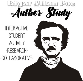 Edgar Allan Poe Author Study, Poe Biography, Poe Stories, Poe Unit