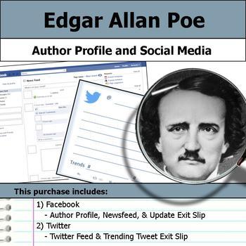 Edgar Allan Poe - Author Study - Profile and Social Media
