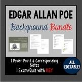 Edgar Allan Poe Background BUNDLE