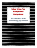 Edgar Allan Poe Background Study Guide: Follows PowerPoint