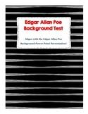 Edgar Allan Poe Background Test