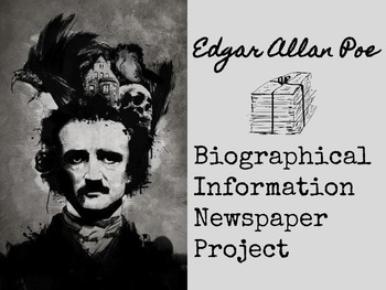 Edgar Allan Poe Biographical Information Newspaper Project