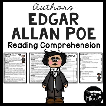 Edgar Allan Poe Biography Reading Comprehension Worksheet