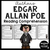 Edgar Allan Poe Biography Reading Comprehension Worksheet