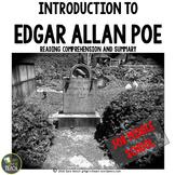 Edgar Allan Poe Biography Stations (Reading Comprehension