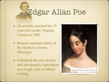 Edgar Allan Poe Biography and Background