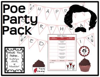 Edgar Allan Poe Party Pack