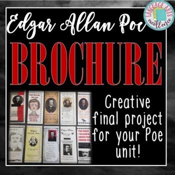 Edgar Allan Poe Brochure - Final Project