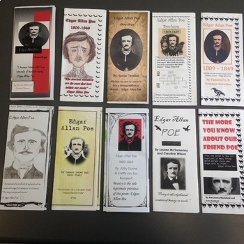 Edgar Allan Poe Brochure - Final Project