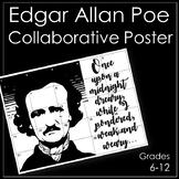 Edgar Allan Poe Classroom Collaborative Poster/Bulletin Board Display
