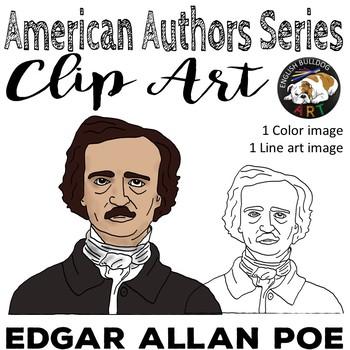 Edgar Allan Poe Clip Art