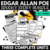 Edgar Allan Poe Short Story Unit - Raven, Tell Tale Heart,