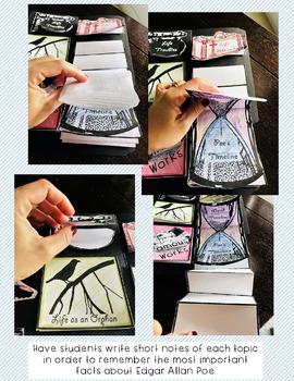 Edgar Allan Poe Complete Lap Book