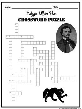 Edgar Allan Poe Crossword Puzzle