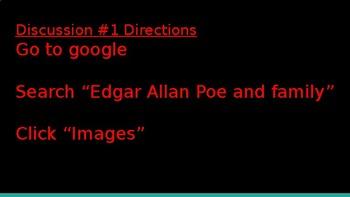 Edgar Allan Poe Discussion Challenge