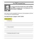 Edgar Allan Poe ENGLISH - Five Paragraph Essay template