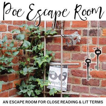Edgar Allan Poe Escape Room: An Escape Room for Close Reading and Literary Terms