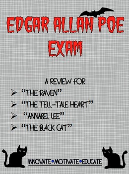 Edgar Allan Poe Exam + Key