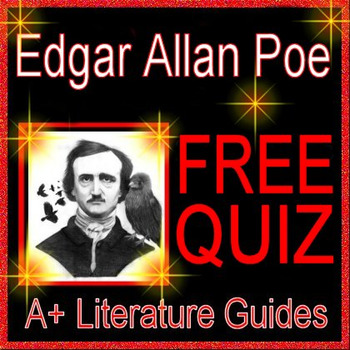 The Raven And Other Poems By Edgar Allan Poe & Worksheets | TpT