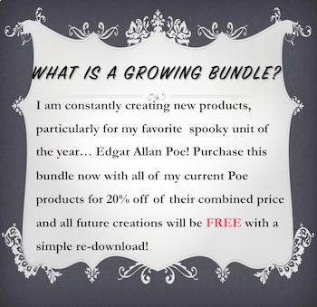 Edgar Allan Poe {{GROWING BUNDLE}} - 20% off all Poe Products!