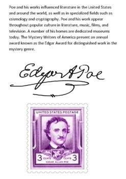 Edgar Allan Poe Handout