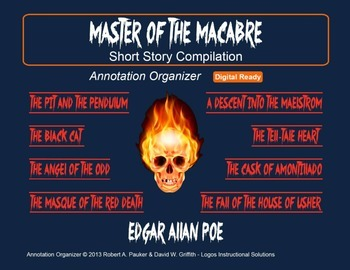EDGAR ALLAN POE - Master of the Macabre: Short Story Compilation (8 stories)