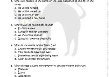 Edgar Allan Poe Mini Bundle: The Black Cat and The Tell Tale Heart
