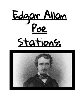 Edgar Allan Poe PreReading Activities/Stations