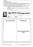 Edgar Allan Poe Printable