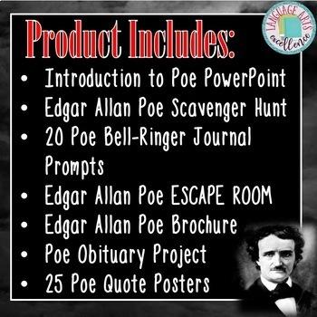 Edgar Allan Poe Resource Bundle