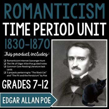 Romanticism Unit: Hands-on, Interactive Activities