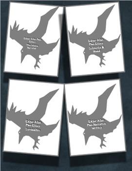 Edgar Allan Poe NO PREP Essay Bundle- Set of 4 CCSS Aligned Essays