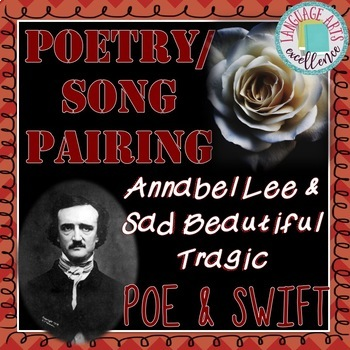 Edgar Allan Poe & Taylor Swift Poetry/Song Pairing