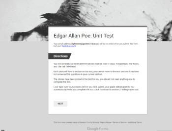 Edgar Allan Poe Test