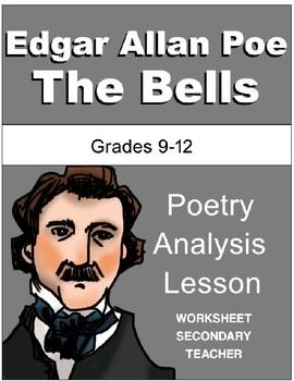 Edgar Allan Poe The Bells Poetry Analysis Lesson