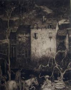 """Edgar Allan Poe: """"The Fall of the House of Usher"""" Artistic"""