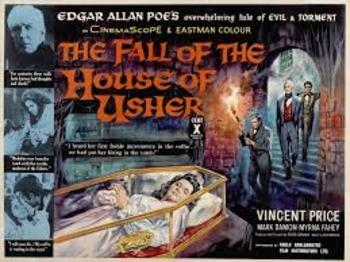 "Edgar Allan Poe: ""The Fall of the House of Usher"" Movie Matrix"