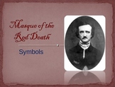 """Edgar Allan Poe """"The Masque of the Red Death"""" color symbolism"""