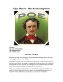 Edgar Allan Poe - Three Easy Reading Short Stories
