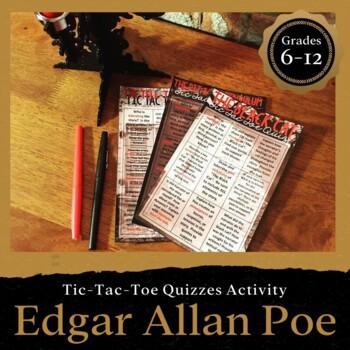 Edgar Allan Poe Tic-Tac-Toe Quizzes