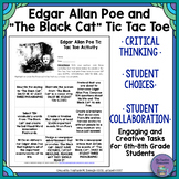 "Edgar Allan Poe and ""The Black Cat"" TIC TAC TOE Activity"