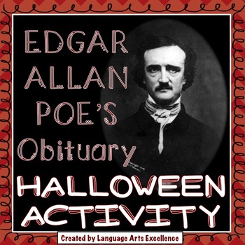 Edgar Allan Poe-bituary - The Perfect Lesson for Halloween!
