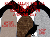 Edgar Allan Poe fill in the blank biography!