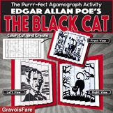 Edgar Allan Poe's THE BLACK CAT Activity: Foldable Agamograph (with Stationery)