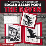 Edgar Allan Poe's THE RAVEN Activity: A Foldable Agamograph (with Stationery)