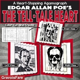 Edgar Allan Poe's THE TELL-TALE HEART Activity: Agamograph (with Stationery)
