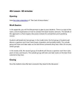 Edgar Allan Poe's The Cask of Amontillado: Practice with Short Story