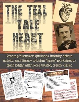 Edgar Allan Poe's The Tell-Tale Heart Activity Pack