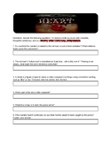 Edgar Allan Poe's The Tell Tale Heart Comprehension Questions